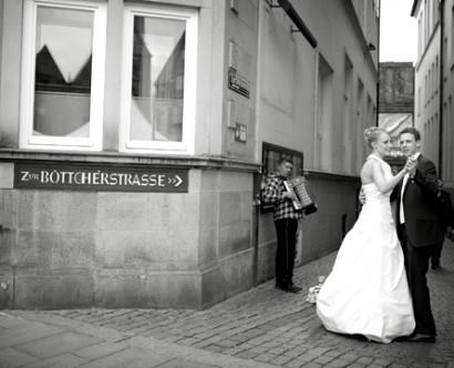 Tanz vor der Böttcherstraße